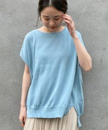 le.coeur blanc OUTLET/ワイドシルエットフレンチスリーブニット/503384392