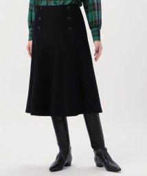 MACPHEE/【WEB先行予約】ウールフランネル マーメイドスカート/503386020
