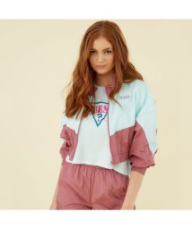 GUESS/ゲス GUESS GUESS Originals Logo Windbreaker (MINT TO BE MULTI)/503386491