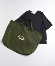 TICCA/【TICCA×川上桃子】munificent ロゴTシャツ&バッグ/503205848