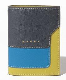 MARNI/【MARNI】サフィアーノレザー バイフォールドウォレット/503358150
