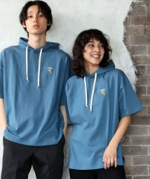 ALWAYS GOOD TIME NEW BASIC STORE/NORMANBROS(ノーマンブロス)PIZZA 刺繍半袖Tパーカー/503363196