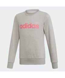 adidas/アディダス adidas リニア スウェットシャツ / Linear Sweatshirt (グレー)/503373401