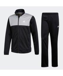adidas/アディダス adidas ベーシック トラックスーツ (ブラック)/503373497