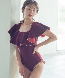 Cherie Mona/【CherieMona】バックリボンバイカラーOPビキニ/503383051