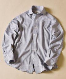 SHIPS MEN/SD:ALBINI社製生地 クリアソリッド ワンピースカラー ネルシャツ/503387503
