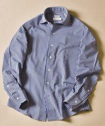 SHIPS MEN/SD:ALBINI社製生地 ストライプ ワンピースカラー ネルシャツ/503387505