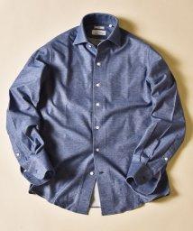 SHIPS MEN/SD:ALBINI社製生地 ジャージー ワンピースカラー ネルシャツ/503387506