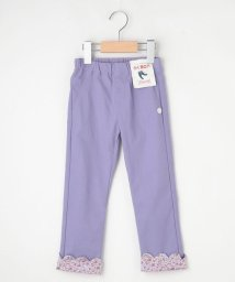 3can4on(Kids)/【100-140cm】ストレッチスキニー裾スカラップロングパンツ/503388025