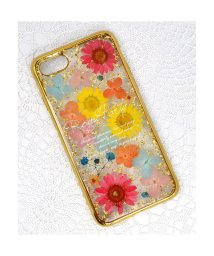 Mーfactory/iPhone SE(第2世代)/8/7 ROYALPARTY [押し花ケース/YELLOW]/503387129