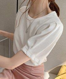 miniministore/Tシャツ レディーストップス 半袖 カットソー 韓国ファッション カジュアル/503390370