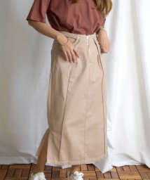 ARGO TOKYO/Cut off tight skirt 222042/503390978