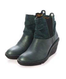 EU Comfort Shoes/ヨーロッパコンフォートシューズ EU Comfort Shoes FLYLONDON ショートブーツ (グリーン)/503391632