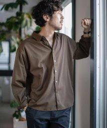 nano・universe/《WEB限定》エントリーワイドレギュラーカラーシャツ/503200474
