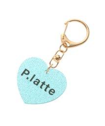 PINK-latte/P.LATTEロゴキーホルダー/503391868