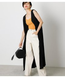 AZUL by moussy/FRONT BUTTON VEST DRESS/503392114