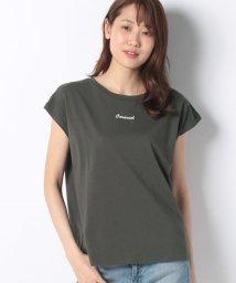 OLIVE des OLIVE/USAコットンフレンチ袖Tシャツ/503381838