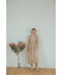 CLANE/EMBROIDERY FLOWER ONE PIECE/503394087