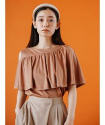 CELFORD/アシメフリルロングTシャツ/503394901