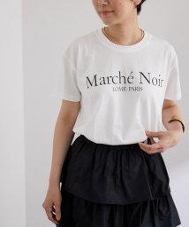 ADAM ET ROPE'/【Marche' Noir】Logo Tee/503394936