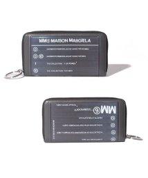 MM6 Maison Margiela/【MM6 Maison Margiela】長財布 ラウンドジップ/503365691