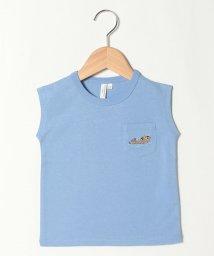LAGOM/【lagom】海の生き物刺繍フレンチスリーブTシャツ/503389788