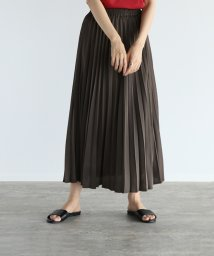 LASUD/[RADIATE] サテンプリーツスカート/503394199