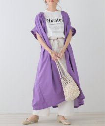 framesRayCassin/綿ローンギャザー羽織りワンピース/503396511