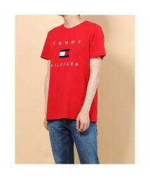 TOMMY HILFIGER/トミーヒルフィガー TOMMY HILFIGER フラッグロゴ プリント Tシャツ (レッド)/503396561