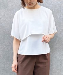le.coeur blanc OUTLET/ケープブラウス/503397296