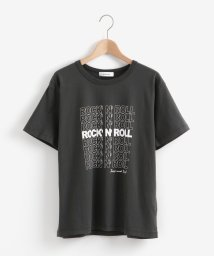le.coeur blanc OUTLET/ロックンロールプリントTシャツ/503397304