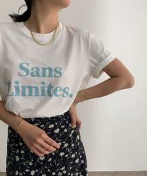 ROPE' mademoiselle/【Les Petits Basic】FRENCH ロゴTシャツ/503398573