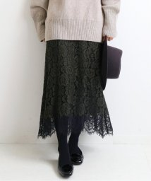 IENA/《予約》レース裾フレアスカート◆/503398609