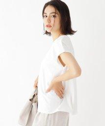 OPAQUE.CLIP/【WEB限定サイズ】コーマ天竺 フレンチスリーブTシャツ/503399196