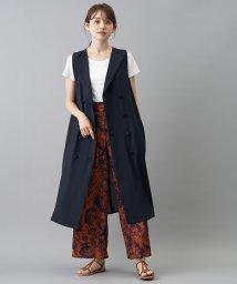 en recre/【Sono】ダブルブレステッドデザインベスト/503392914