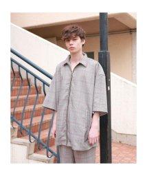 LHP/clut/クルト/オーバーサイズシルエット リングジップシャツ/503399507