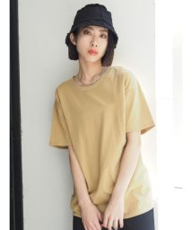 EMODA/バックプリントルーズTシャツ/503399682