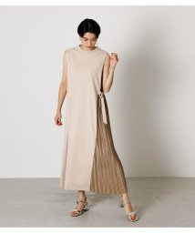 AZUL by moussy/PLEATS COMBI CUT ONEPIECE/503399730
