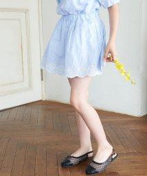 ROPE' PICNIC KIDS/【ROPE' PICNIC KIDS】インナーパンツ付きスカラップレーススカート/503399799