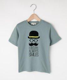 SHOO・LA・RUE(Kids) /【80-130cm】フロッキーひげメガネTシャツ/503400165