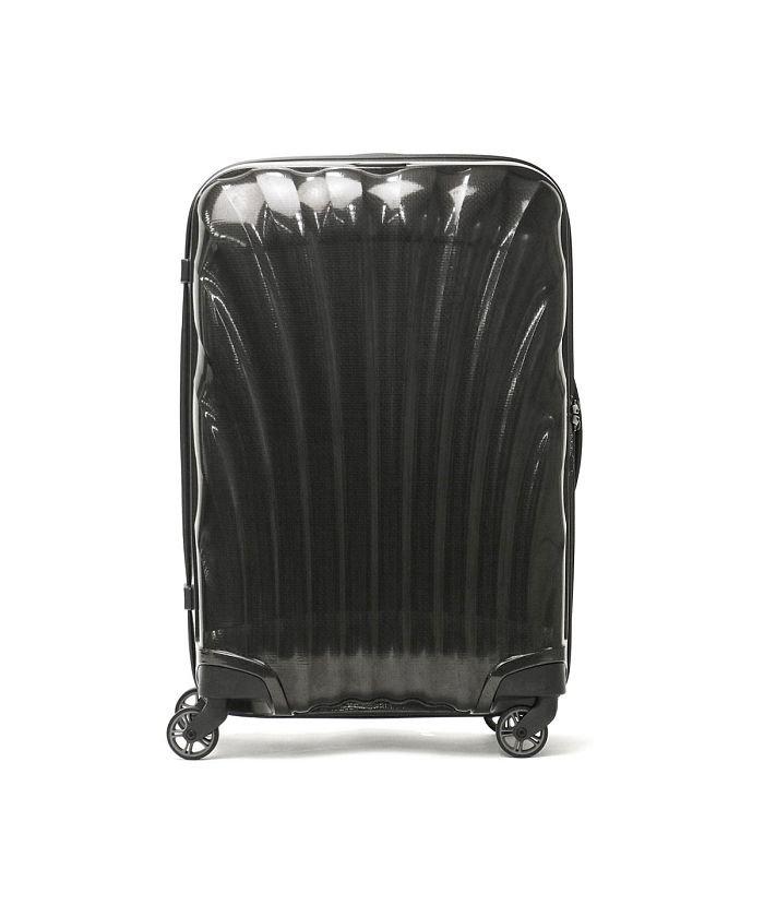 ギャレリア サムソナイト スーツケース Samsonite Cosmolite Spinner 69 TSAロック 68L 5〜6泊 V22−306 ユニセックス ブラック F 【GALLERIA】