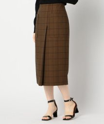 NOLLEY'S sophi/ウールライクポケット付きスカート/503391985