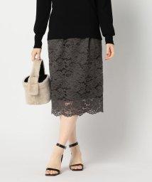 NOLLEY'S sophi/ラッセルレースタイトスカート/503391986