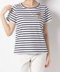 en recre/【BEATRICE】ビジューロゴTシャツ/503392903
