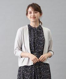 en recre/【THREE DOTS】薄手カ-ディガン/503392927