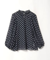 To b. by agnes b./WO95 CHEMISE ドットブラウス/503394182