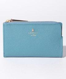 LANVIN en Bleu(BAG)/リュクサンブールカラー キーリング付き二つ折りカードケース/503395518