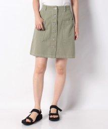 OLIVE des OLIVE/前ボタンアウトポケットスカート/503395599