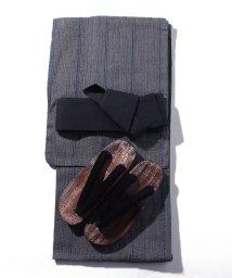 STYLEBLOCK/シジラ織り浴衣3点セット(浴衣、帯、下駄)/503325933