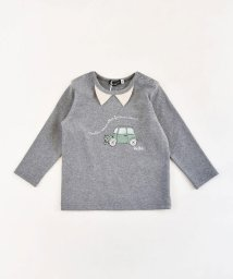 BeBe/水彩画 手書き風  車プリント Tシャツ  (80cm~100cm)/503383862
